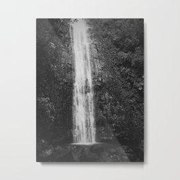 Waterfall Zen Metal Print