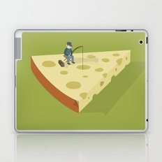 Slice fishing Laptop & iPad Skin