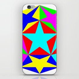 Half Dodecahedron Stars iPhone Skin