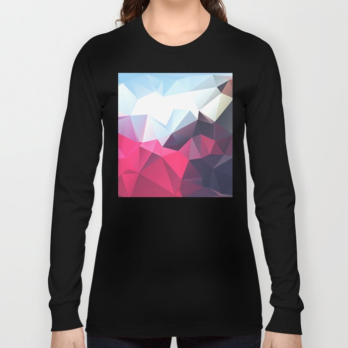 Polygonal Long Sleeve T-shirt