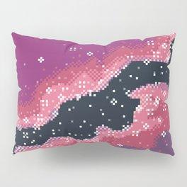 Pink Rift Galaxy (8bit) Pillow Sham