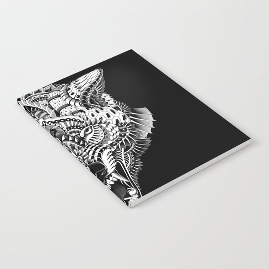 Wolf Head Notebook