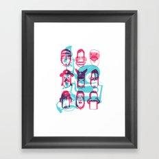 True Friends - LOST TIME Framed Art Print
