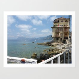 Scilla, Italy Art Print