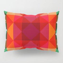 Abstract Bright Flower Pandi Pillow Sham
