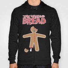The Walking Bread Zombie Gingerbread Man  Hoody