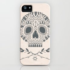 LEAF SKULL iPhone (5, 5s) Slim Case