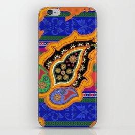 monaco paisley iPhone Skin