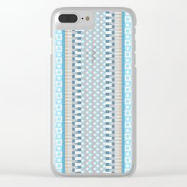 Woven Pattern 5.0 Clear iPhone Case