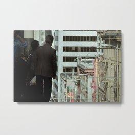 Dr. Chinatown Metal Print