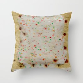 Dessert for Breakfast Throw Pillow