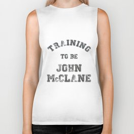 Training to be John McClane Biker Tank