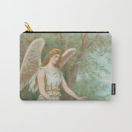 Vintage Guardian Angel Carry-All Pouch