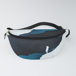 Teal Isolation Fanny Pack