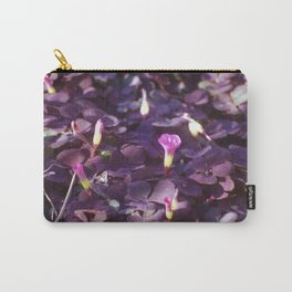 Pretty in Purple Flowers Carry-All Pouch