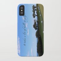 golf iPhone & iPod Cases featuring Golf by Rebecca Bear