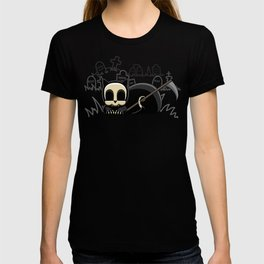 Grim Reapets - A Cat Named Coffin - Halloween Kitty T-shirt