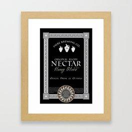 Fictional Brew - Nectar Framed Art Print