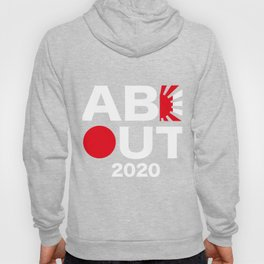 ABE OUT 2020(White Text) Hoody