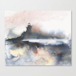 Power Play at Split Rock Lighthouse Canvas Print