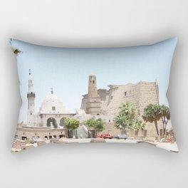 Temple of Luxor, no. 14 Rectangular Pillow
