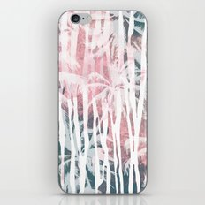 Abstract animal and palm iPhone & iPod Skin