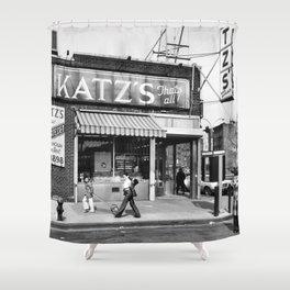 Katzs Deli NYC Shower Curtain