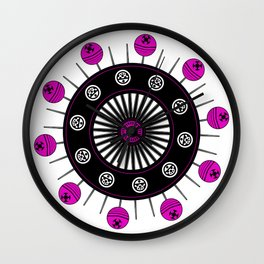 locura cósmica Wall Clock