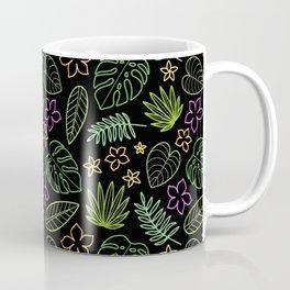 Tropical Neon Coffee Mug