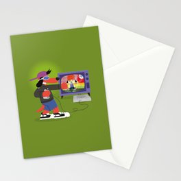 Rap Game Stationery Cards