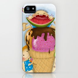 The pleasure of being twin iPhone Case