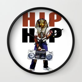 Hip Hop Pharoah Wall Clock