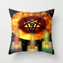 CANDELA TRES - 044 Throw Pillow