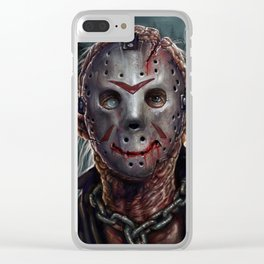 Jason - Friday the 13th Clear iPhone Case