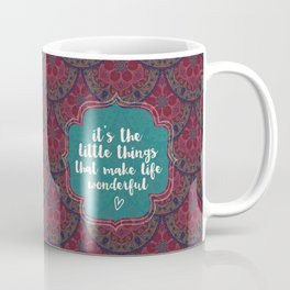 Little things in life Coffee Mug