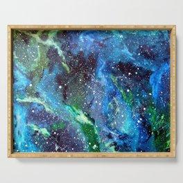 Galaxy (blue/green) Serving Tray