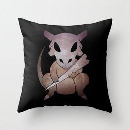 Cute Bone Throw Pillow