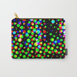 Simple multicolor halftone background Carry-All Pouch