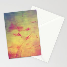 Liquids Go Abstract Stationery Cards