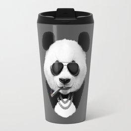 Panda in Sunglasses Travel Mug