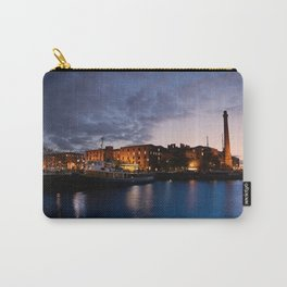 Liverpool Albert Dock At Night Carry-All Pouch