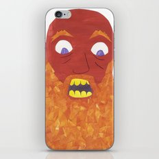 There was an Old Man with a Beard, Who said, 'It is just as i feared! iPhone & iPod Skin