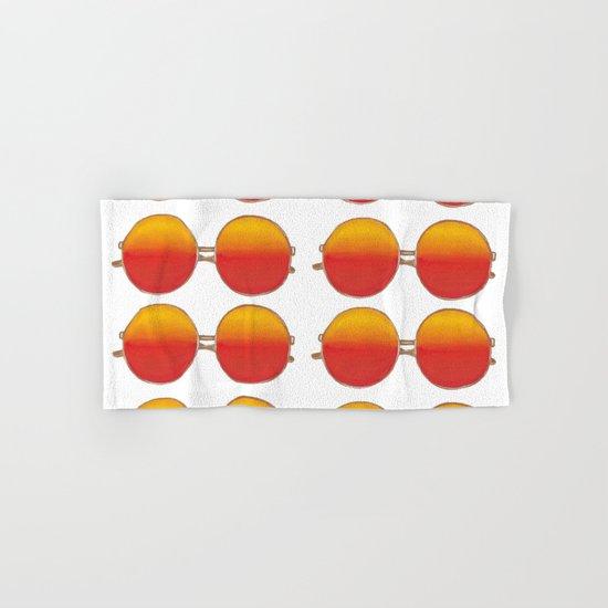 Bright sunset retro sunglasses pattern by kuallidesigns