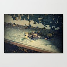 Bare Bones Bird Canvas Print