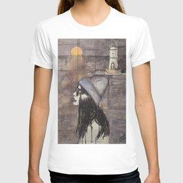 The sea at winter T-shirt
