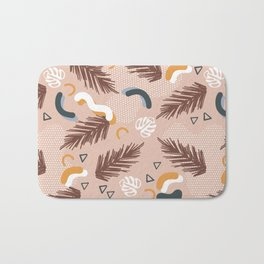 Art line memphis nature Bath Mat