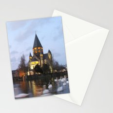 Metz Swans Stationery Cards