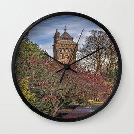 Cardiff Clock Tower. Wall Clock