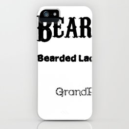 Beard-O-Meter iPhone Case