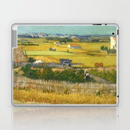 Vincent Van Gogh - The Harvest Laptop & iPad Skin